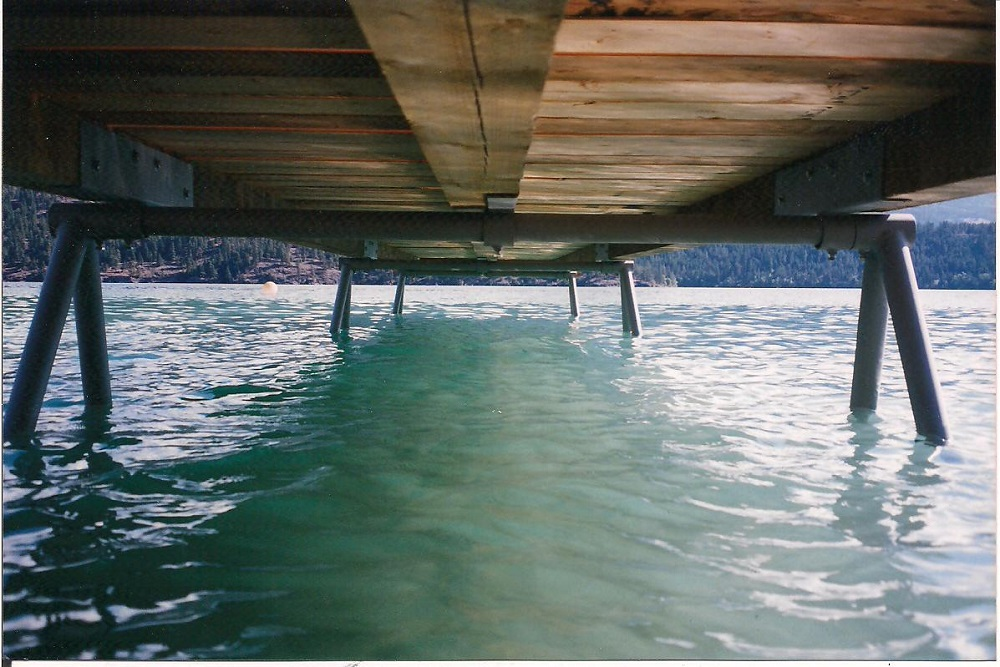Dock support for Dock pilings cost